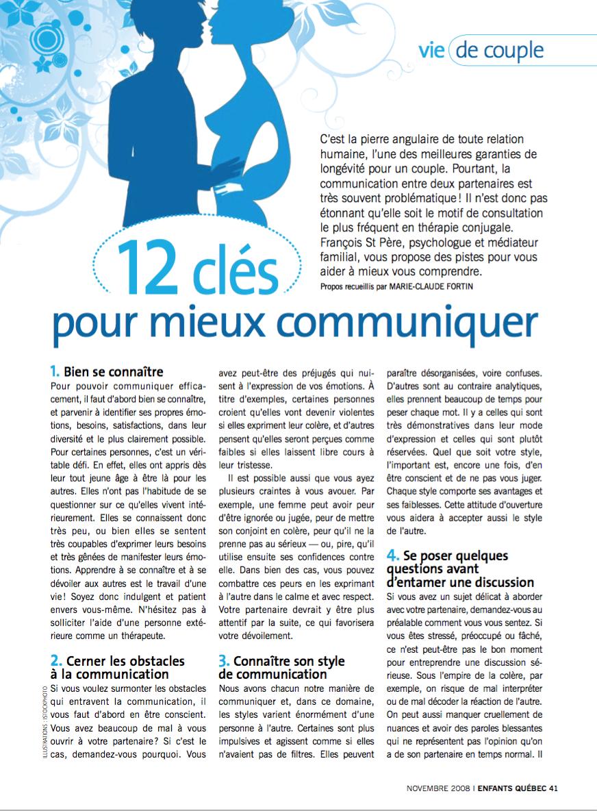 12 clés pour mieux communiquer